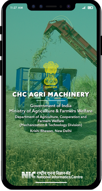 'CHC Farm Machinery' App for the farmers to avail the custom hiring services launched